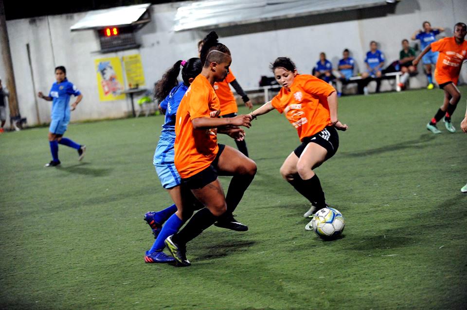 Liga de futbol para damas