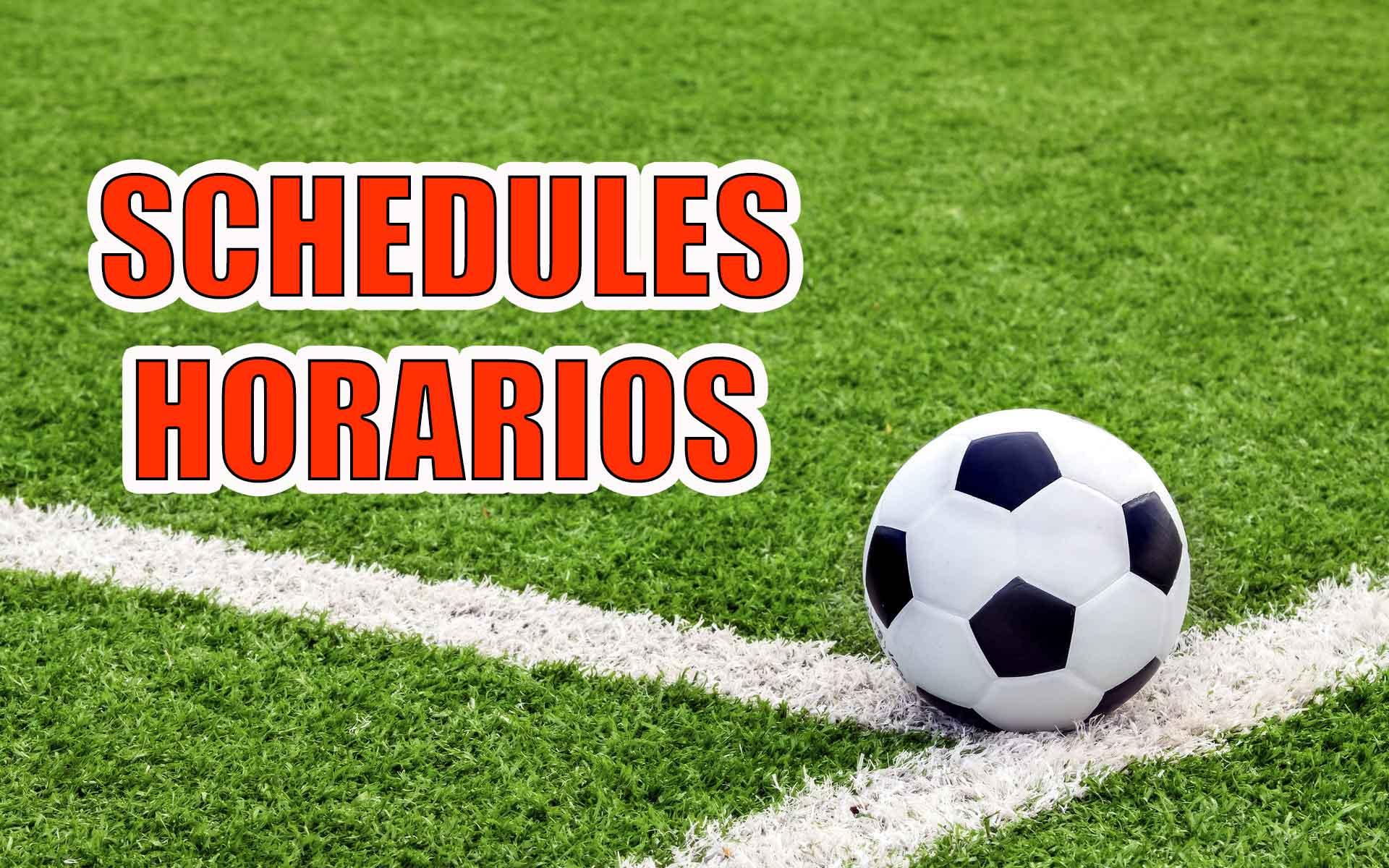 horarios futbol,